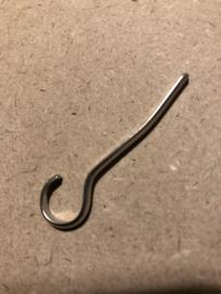 Gespen | ASTOR | Zilverkleurig | Haakje voor gespen 5 cm - 50 mm