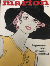 1970   Marion naaipatronen maandblad   nr. 263 MEI 1970