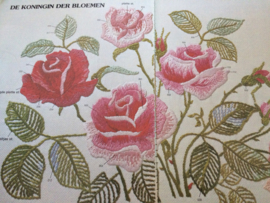 Borduren | Die Machsche | Bloemen borduren