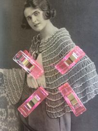 NIEUW | Vier stuks handige roze nieuwe clips om naaiwerk vast te zetten (S)