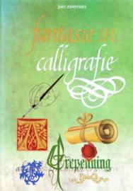 Boeken | Kalligrafie | Fantasie in calligrafie - Jan Zeeman