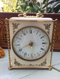 Vintage | Lief elektrisch klokje (ongeaarde stekker)- goed werkend | jaren '50