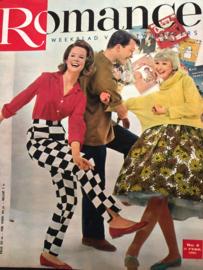 1961 | Romance weekblad voor de twintigers | nr. 06 - 11 februari 1961 (Louis Armstrong en Toon Hermans)