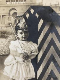 Duitsland | Fotokaart | 1908 - Die Erste Wache! Prinz Wilhelm von Preussen
