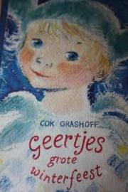 1960 | Boeken | Kinderen | Vintage | Geertjes Grote winterfeest - Cok Grashoff ill. Elly van Beek