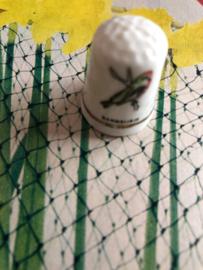 Vintage | vingerhoedje keramiek  bramsijsje | jaren '80