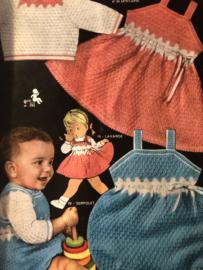 Tijdschriften   Breien   Tricotez Madame - Maman's Layette Spécial no 35 1959 - ZELDZAAM