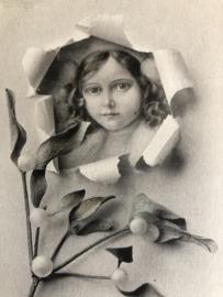 1910 | Oostenrijk | Meisje in Lelietje van Dalen - Vienne Serie 62