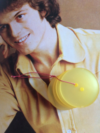 Knopen | Geel |  25 mm 2 gaatjes - Blouse knopen