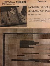 Ariadne: maandblad voor handwerken | 1956 nr. 117 - SEPT-OKT - ALLEEN WERKBLAD