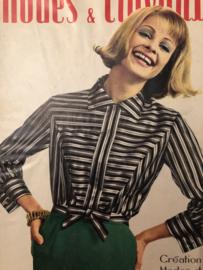 VERKOCHT | 1965 | Modes et travaux  Février 1965 - 47e Année N° 770 - met handwerk patronenblad