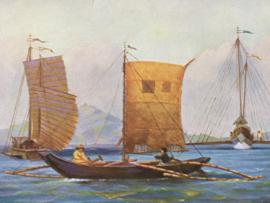 Brocante briefkaarten | Nautica & schepen