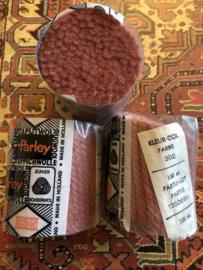 Tapijtwol | Parley - 302 - Oud Roze | Pakje zeldzaam zuiver scheerwol Teppichwolle - Carpetwool -  IRAN - Made in Holland ca. 1960