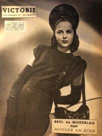 1948   VICTORIE BREI en MODEBLAD voor MOEDER en KIND - Derde jaargang nr. 16 - 14 augustus 1948