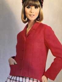 Madeleine: mode en patronenblad van Margriet 1968, nr. 3 maart - gratis radarblad
