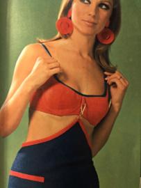 Madeleine: mode en patronenblad van Margriet 1967, nr. 4 april  - gratis radarblad