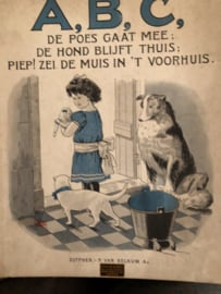 1927 | ABC Wie van de kindjes zingt mee?  P. Van Belkum