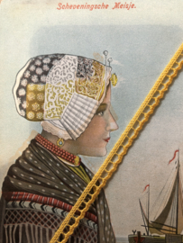 Band | Geel | SIerband 'Boterbloem ' 0.5 cm katoen - 5 mm - katoen