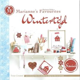 Boeken | Papier | Marianne's Favorites Wintertijd - wenskaarten en andere papierdecoraties