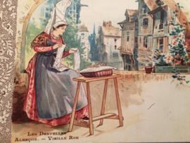 Briefkaarten | Handwerken | Breien | Naaien | Spinnen | Kantklossen | Divers