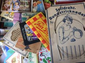 Z - Duitse naaldenboekjes en naaigerei verzameling | oktober 2018