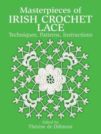 Haken   Boeken  Masterpieces of Irish Crochet Lace Paperback Tooltip Techniques, Patterns, Instructions