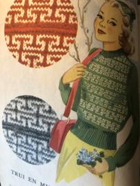 Tijdschriften   Breien   Knitwell Breiboek - voorjaar 1947