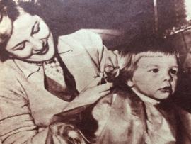 1951 - La face a Main | vintage roddelblad, 10 februari 1951