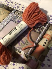 Borduurwol | Parley 604 - 605 - 606 - 607 - 608 - 609 | GOBELIN - strengetjes | Strähnchen | skeins | echevettes - 5 gram