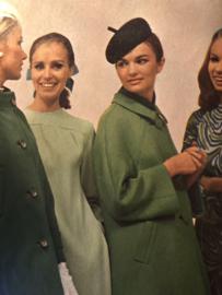 Madeleine: mode en patronenblad van Margriet 1968, nr. 2 februari  - gratis radarblad