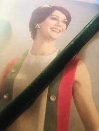 Band | Groen | Fluweelband BERISFORD 'Green velvet' (1 cm)