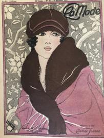 1919 | Revue La Mode 23e Année No 46 16 Novembre 1919 - Hotel du Petit Journal Paris