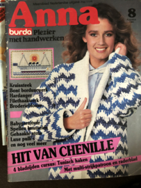 Tijdschriften | Handwerken | Anna - Burda: plezier met handwerken  | 1983, nr. 08 augustus - Tunisch haken