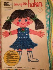 Tijdschriften   Haken   Mon Tricot   Leer, nog beter haken - Bohemien - 1973