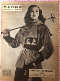 1948   VICTORIE BREI en MODEBLAD voor MOEDER en KIND - Derde jaargang nr. 5 - 20 maart 1948