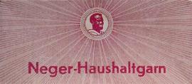 Neger-Haushaltgarn