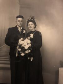 Oude foto's echtparen