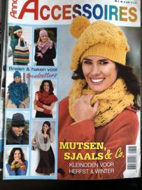 Tijdschriften | Haken & breien | Anna: Accessoires zelf maken nr. 03  - KLEINODEN VOOR HERFST & WINTER - Mutsen en sjaals en handschoenen
