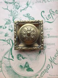 1900 | Messing | Victoriaanse inktpot | ca. 1900-1910