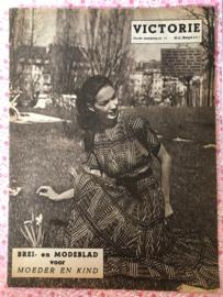 1948   VICTORIE BREI en MODEBLAD voor MOEDER en KIND - Derde jaargang nr. 11 - 5 juni 1948