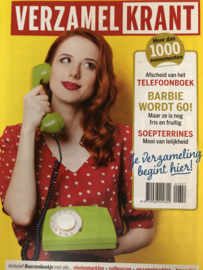 2019 | Verzamelen | Tijdschriften | Verzamelkrant nummer 351 - april 2019 | Telefoonboek, Barbie wordt 60 en soepterrines