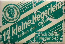"Verpakking ""12 kleine Negerlein"" naalden"