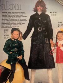 1971   Marion naaipatronen maandblad   nr. 272 februari 1971 - ZONDER radarblad - Vistalon - lente