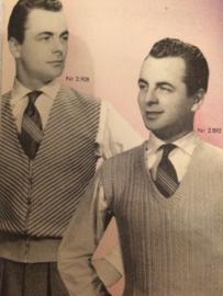 1954 | De Breiblaadjes- Vintage breireclame | Breibladen 1954