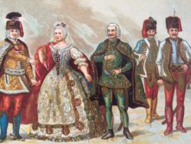 Hongaarse kostuums | midden 18de eeuw  | Hongarije