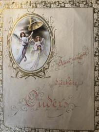 1928 | Ephemera | Religieuze brief/schriftje uit 1928 aan ouders
