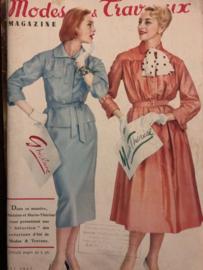 1957 | Modes Travaux Magazine - Mai 1957 - N° 677 - 39e Année - zonder patroonblad