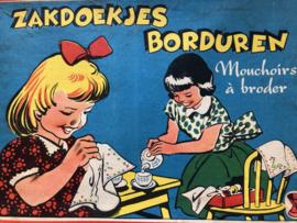 Borduren | Zakdoekjes borduren - vintage jaren '60
