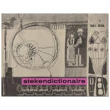 Boeken |  Borduren | Vintage | 1971 | Stekendictionaire: borduursteken en borduurtechnieken verzameld door Nel Rol (3e druk)