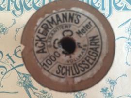 Ackermann's schlüsselgarn 1000 Meter | wit